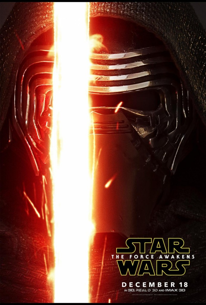Check out these awesome newly released STAR WARS: THE FORCE AWAKENS character posters! This highly anticipated movie releases in theaters December 18!