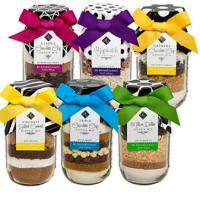 Huge Savings! Sisters' Gourmet Set of 6 Cookie Jars!