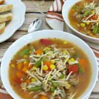 Thanksgiving Leftover Ideas: 30-Minute Turkey Vegetable Soup