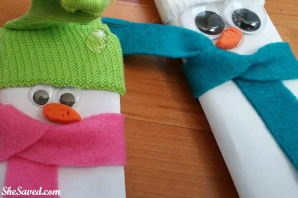 Candybar Snowmen 7