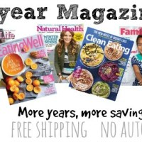HUGE Weekend Multi-year Magazine Sale!
