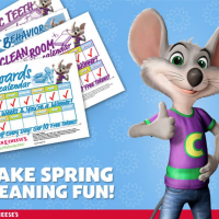 Chuck E. Cheese FREE Rewards Calendars for Kids