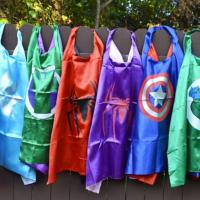 Super Hero Cape & Mask Sets for $9.99