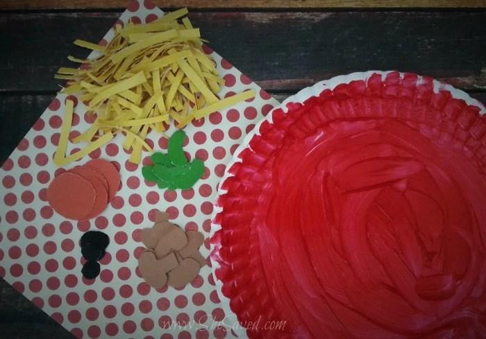 Pizza Kids Craft