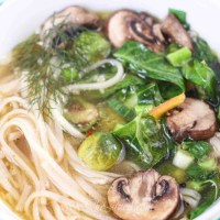 Asian Style Vegetable Soup Recipe