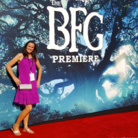 On the Red Carpet at The BFG Premiere! #TheBFGEvent