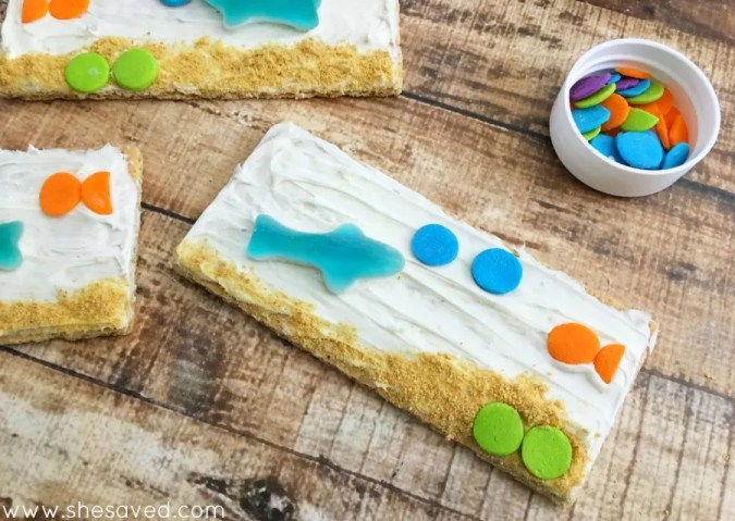 These under the sea treats will be a hit at your pool party or family gathering!