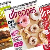 RARE! Allrecipes Magazine for ONLY $4.99 per Year!