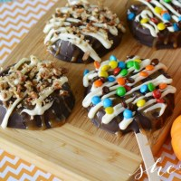 Fall Treat: Chocolate Covered Apple Slices