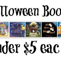 Halloween Books Under $5