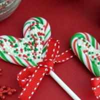 Candy Cane Hearts Pops