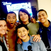 Meet the Stars of Disney Channel's Mech-X4 Series