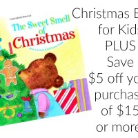 The Sweet Smell of Christmas Scratch & Sniff Book (under $6 Shipped) + HOT Book Coupon!