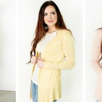 Spring Cardigans as low as under $13 + FREE Shipping!
