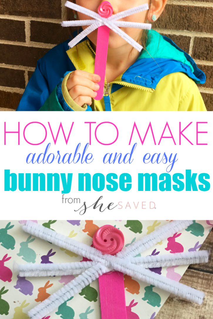 Simple and easy, this Easter Bunny Craft is perfect for preschool kids!