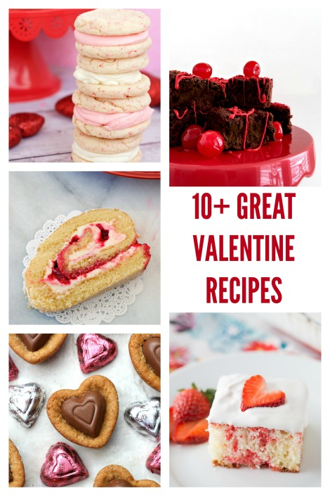 Looking for Valentine's Day inspiration? Here are 10 Valentine Recipes that you will love!