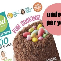 RARE!! Food Network Magazine as low as UNDER $7.00 per Year!