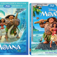 Disney's MOANA available on Blu-ray TODAY!