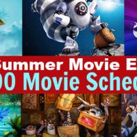 2017 Regal Cinemas $1 Summer Movie Schedule