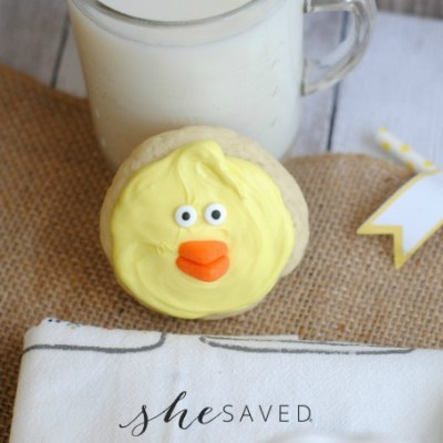 Easter Treat: Easy Baby Chick Cookies Recipe