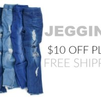 Jeggings!! $10 Off + FREE Shipping