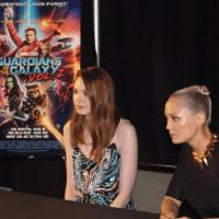 Guardians of the Galaxy Vol. 2: Karen Gillan (Nebula) and Pom Klementieff (Mantis) Interview
