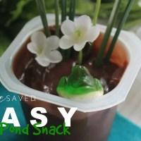 Easy Frog Pond Snack for Kids