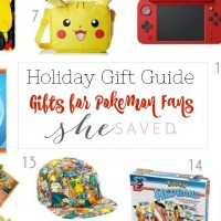 HOLIDAY GIFT GUIDE: Gifts for Pokemon Fans