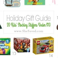 HOLIDAY GIFT GUIDE: Stocking Stuffers Under $10