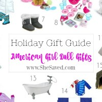 HOLIDAY GIFT GUIDE: American Girl Doll Gifts