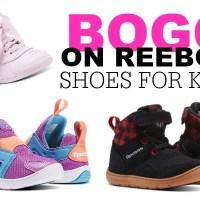 HUGE Savings!! BOGO on Reebok Shoes for Kids!