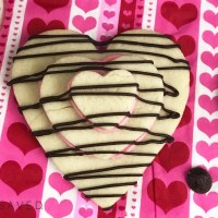 Valentine's Day Heart Stacked Cookies Recipe