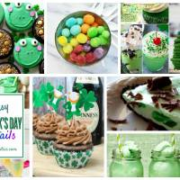 Delicious Dishes Party: Green Food Recipes