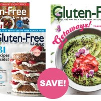 RARE!! Gluten-Free Living Magazine Subscription for $12.99!