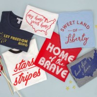 Darling Fourth of July Tees for $16.95 + FREE Shipping!