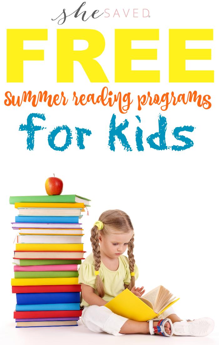 FREE Summer Reading Programs for Kids!