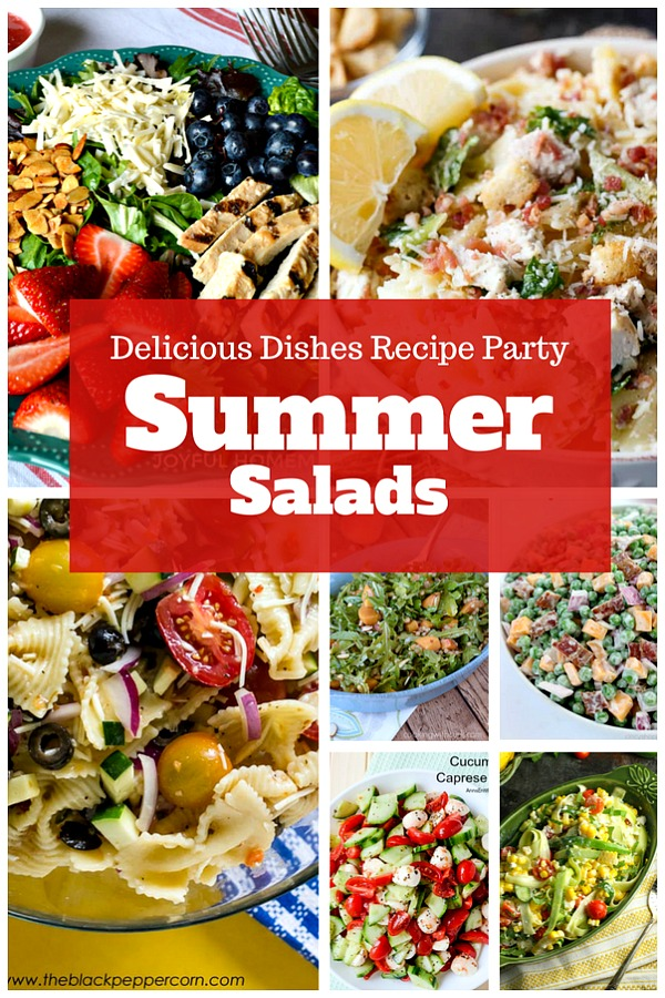 These summer salad recipes are perfect for your summer bbqs and parties!