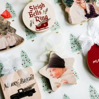 *HOT DEAL* Custom Wood Ornaments 3 for $30 Shipped!