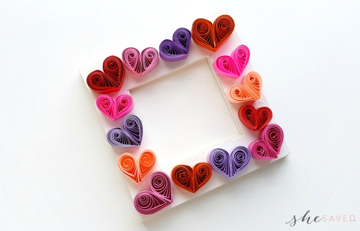 How to make a Quilled Paper Heart