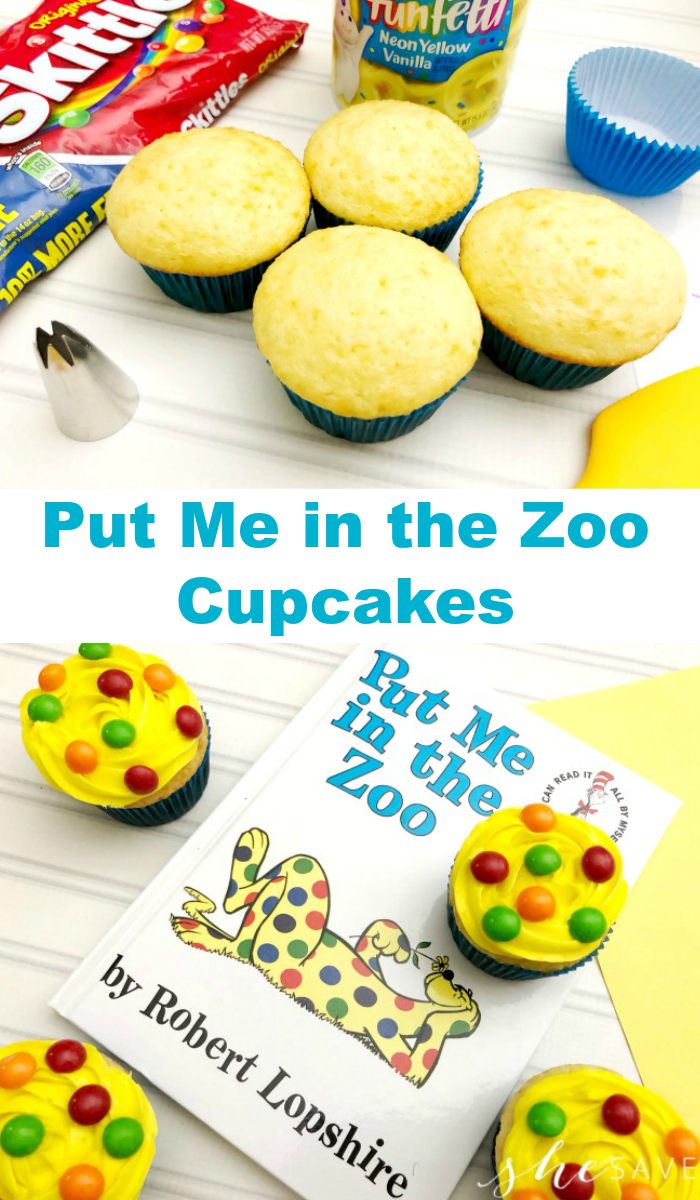 EASY Dr. Seuss Week Treat Idea: Put Me In the Zoo Cupcakes