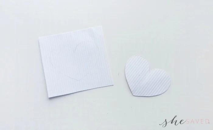 Valentine's Day DIY Heart String Art craft
