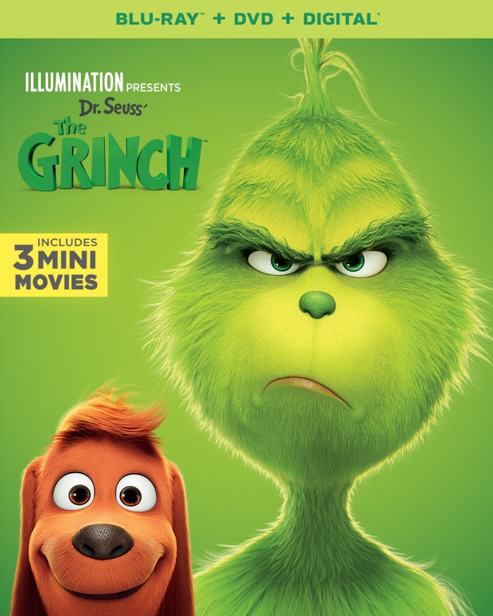 The Grinch Movie and giveaway