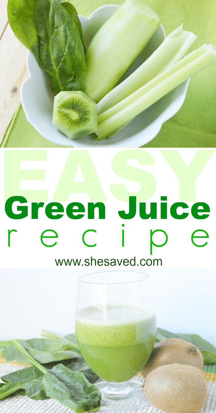 Easy Green Juice Recipe