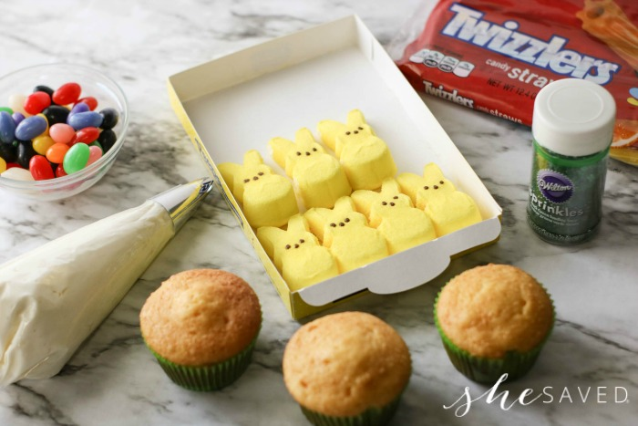 Peeps for Cupcakes