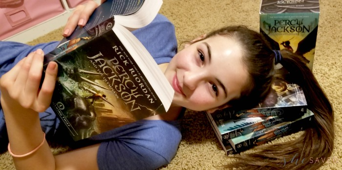 Books in Percy Jackson Series