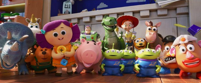 Characters in Toy Story 4