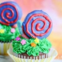 Garden Party Idea: Adorable Snail Cupcakes