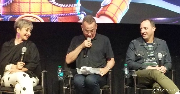 Tom Hanks and Annie Potts Toy Story 4 interview