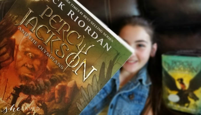 Percy Jackson Book Cover
