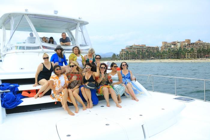 boat group shot